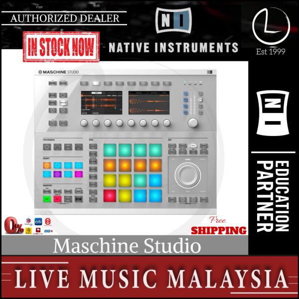 Native Instruments Maschine Studio Groove Production - White Malaysia