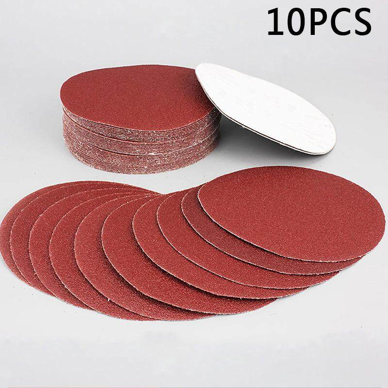 Sanding Sanding Papers Discs for Polishing 100mm 320 Grit 10pcs 4inches Durable Replacement