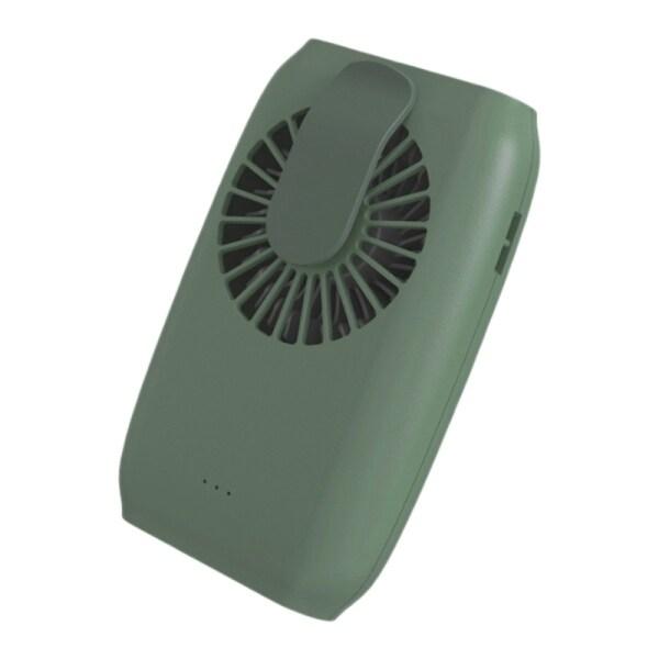 Hanging Waist Fan USB Charging Mini Hanging Neck Fan Office Desktop Leafless Air Conditioning Fan