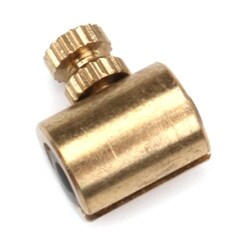 1 Piece Gold Brass Violin Wolf Tone Eliminator Wolf Tone Mute Suppressor For Violin Gold