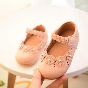 มาใหม่ล่าสุดเด็กเด็กสาวเต้นรำกีฬา Casual รองเท้าหนัง FZTZ0017-