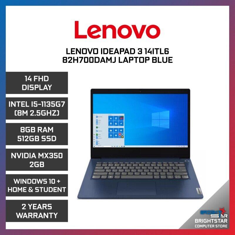 Lenovo Ideapad 3 Laptop (14 Inch FHD   Intel Core   I5-1135G7 (8M 2.5GHZ)   8GB RAM   MX350 2GB   Windows 10 + Microsoft Office Home & Student   2 Years Warranty) Malaysia