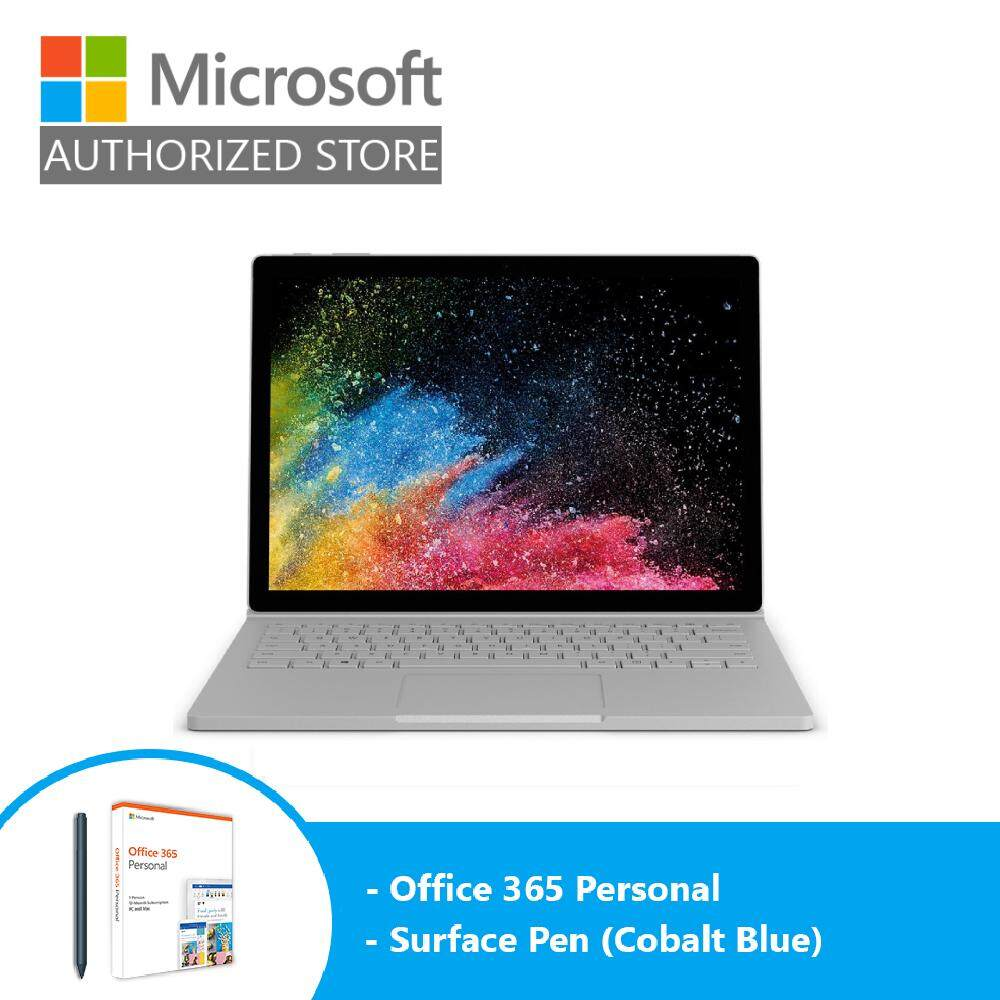 Microsoft Surface Book 2 13 i5/8GB/256 GPU + Pen (Cobalt Blue) + Office 365 Personal Malaysia