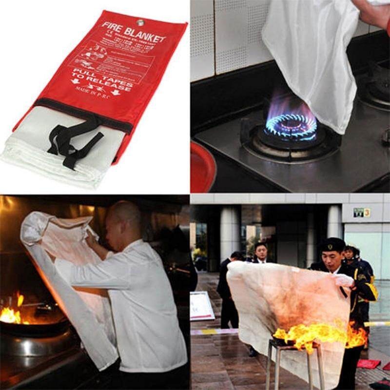 Fire Blanket Emergency Fire Shelter Safety Protector Fire Extinguishers Tent