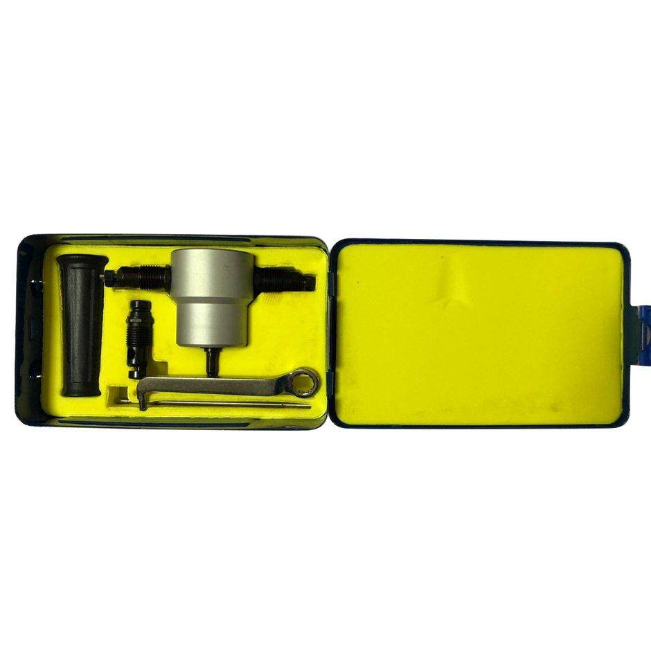 Best Sales Drillpro YT-160A Double Head Sheet Metal Nibbler Cutter Drill Attachment Metal