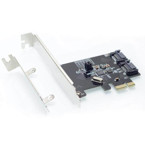 Giá 2 Cổng SATA 6Gbps Thẻ Điều Khiển RAID PCI Express 0 Raid1 PCI-E Sang SATA 3.0 SSD Riser Khung Thả Thấp Asm10 61