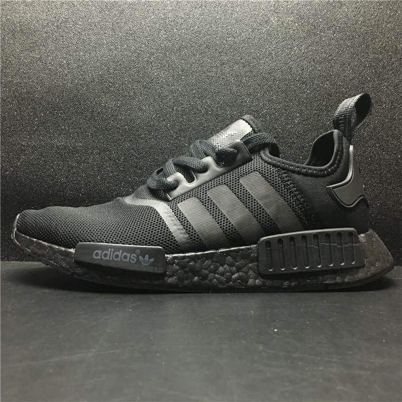 ae307bb28b05c Sale ADIDA NMD  R1 S31508 Limited Edition Men and Women Running Shoe  (Triple Black)