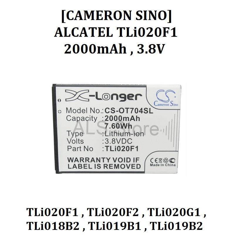 [ORIGINAL] Battery ALCATEL ONE TOUCH POP C7 7040D / PIXI 4 5 0 3G 5010D /  POP 2 5042D - TLi020F1 , TLi020F2 , TLi020G1 , TLi018B2, TLi019B1 ,  TLi019B2