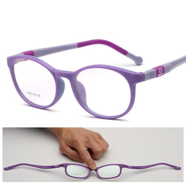 Giá bán Trẻ Em Quang Học Kính Khung TR90 Silicone Kính Trẻ Em Linh Hoạt Bảo Vệ Trẻ Em Kính Diopter Kính Mắt Cao Su Linh Hoạt Mềm Eyewear