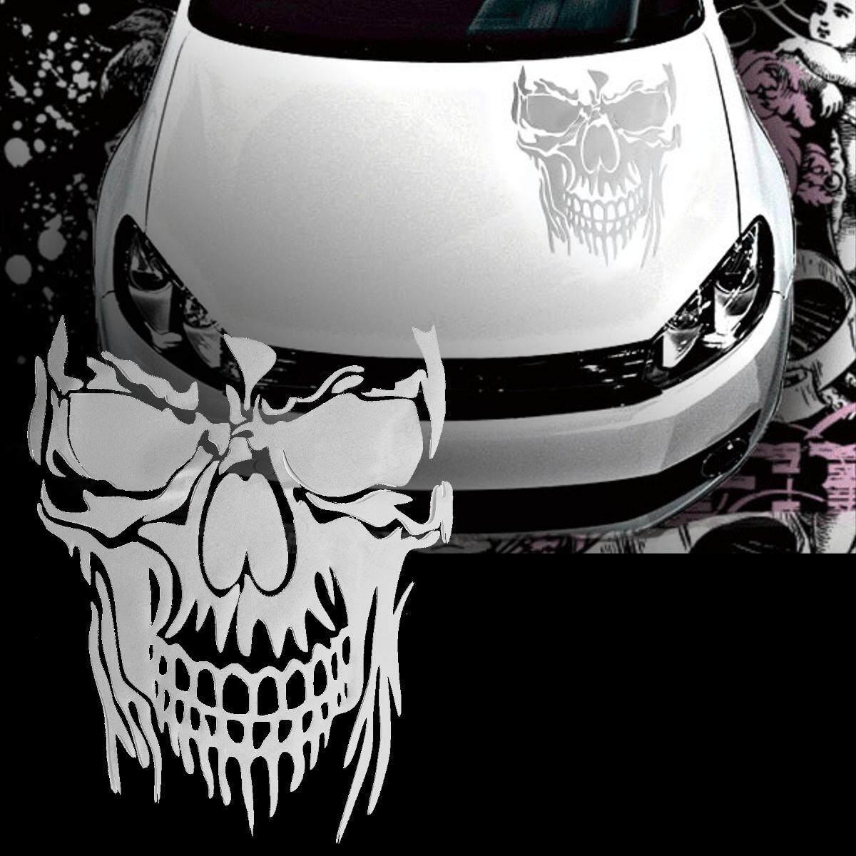 Product details of 【free shipping flash deal】car truck trailer tailgate window door hood decal sticker skull graphic vinyl