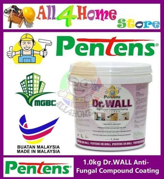 PENTENS Waterproof Anti-fungal Coating, Paint/Joint Compound & Putty Filler Repair Wall 1.0kg