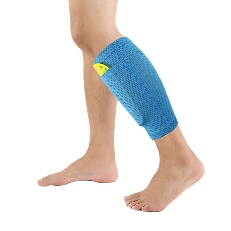 1 Pair Football Protective Leg Brace Support Sleeve Socks Cycling Running Sports Safety Shin Guards Tool ( Not Include Shin Pads ) By Wenwen Shop.