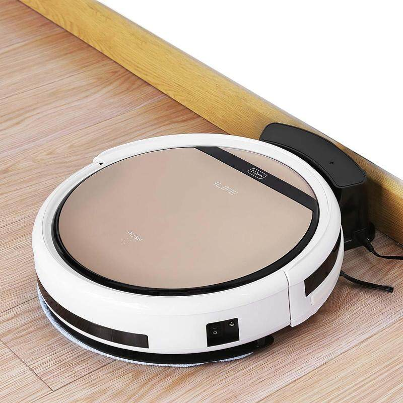 ILIFE V5S Pro Smart Robotic Vacuum Cleaner Cordless Dry Wet Sweeping Cleaning Machine- Eu Plug Singapore