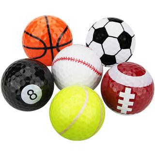 Nhiều Màu Sắc Phụ Kiện Golf TableTennis Bóng Đá Bóng Chày Hai Lớp Thể Thao Balls Golf Balls Golf Thực Hành Bóng Golf Quà Tặng Balls thumbnail