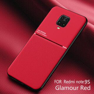 Honinga Dành Cho Ốp Xiaomi Redmi Note 9S Ốp Xiaomi Redmi Note 9 Pro Ốp Kết Cấu Da Mỏng Fahion Ốp Bảo Vệ Điện Thoại Mỏng Mờ Ốp Lưng Chống Sốc Cove Ốp Lưng Điện Thoại thumbnail