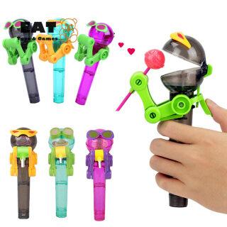 Trẻ Em Ăn Robot Kẹo Mút Đứng Công Cụ Giữ Kẹo Chống Bụi Quà Tặng Trẻ Em Đồ Chơi thumbnail