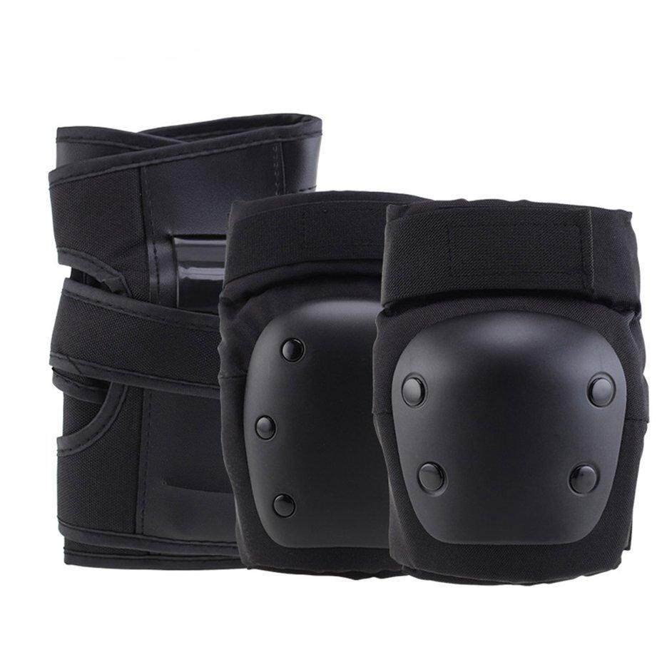 Best Sales Multi-Sport Knee And Elbow Pads and Wrists 6 Pcs Outdoor Sports Safety Protective Gear Set for Skateboard Cycling Skate Scooter