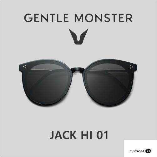 3f21f3fae94 Gentle Monster Jack Hi 01 Black Sunglasses 2019 Latest Korea Sunglass  eyeglasses lens glasses Malaysia