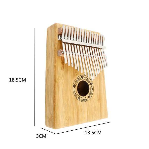 17 Keys Wooden Kalimba Finger Thumb Piano Education Musical Instrument Party - Malaysia