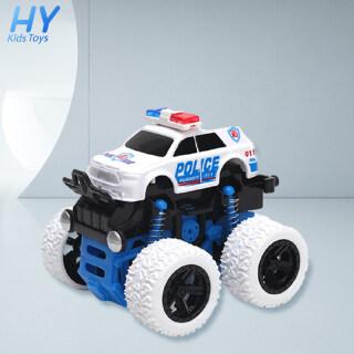 Xe cảnh sát địa hình bốn bánh kéo lùi chạy theo quán tính có bộ giảm xóc chống sốc dành cho bé trai - INTL thumbnail