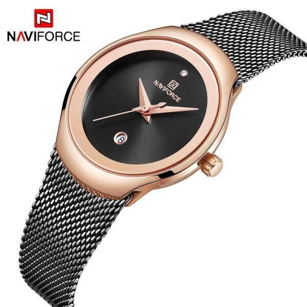 NAVIFORCE 5004 Women Watch Fashion Elegant Casual Ladies watch for women Quartz Luxury Wristwatch Malaysia