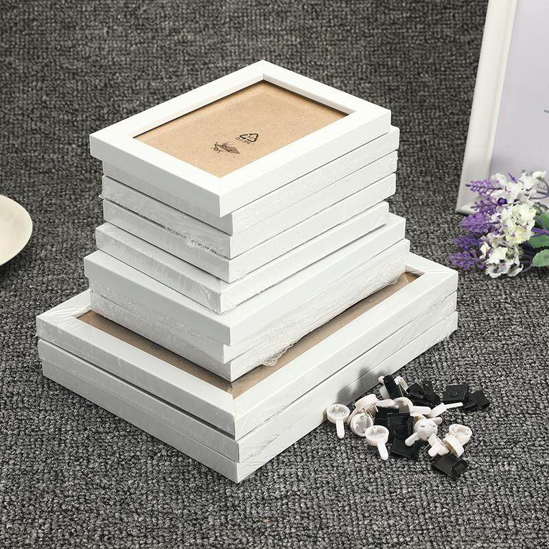 Pictures, Frames & Art Wall Hanging Family Photo Frame Set White/Black Collage Picture Display Wall Decor 11Pcs