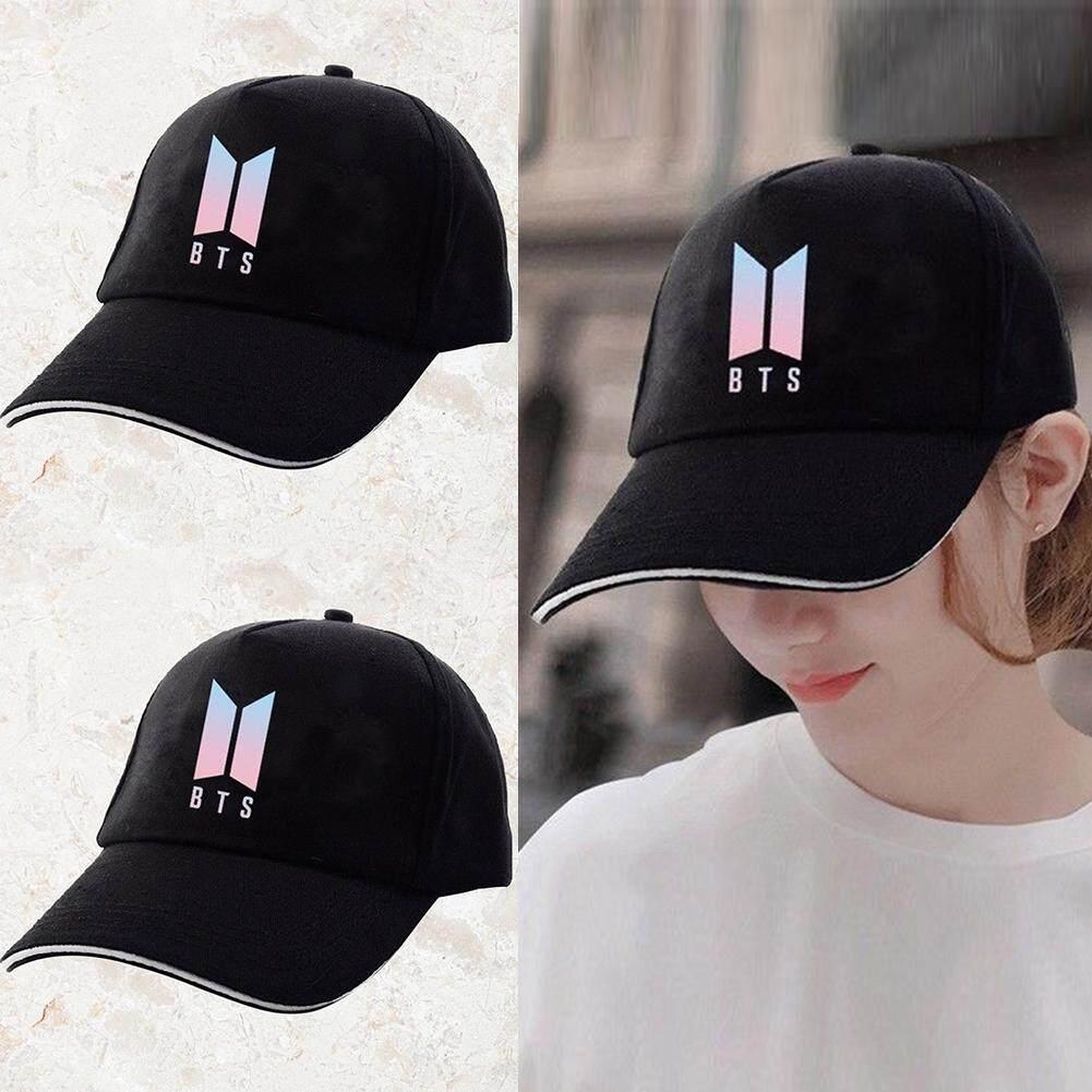 Kpop BTS Logo Laser Baseball Cap Bangtan Boys Hip Hop Snapback Men Women Hat