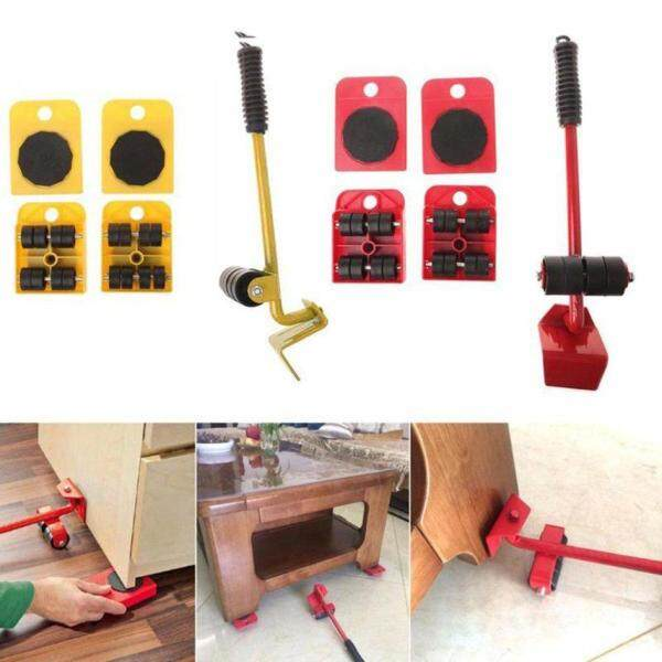 Cozy Furniture Lifter Easy Moving Sliders 5 Packs Mover Tool Set Lifting System