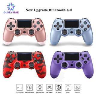 GloryStar PS4 Bộ điều khiển không dây Bluetooth Cần điều khiển Gamepad Đối với PlayStation 4 Game Console PC Steam thumbnail