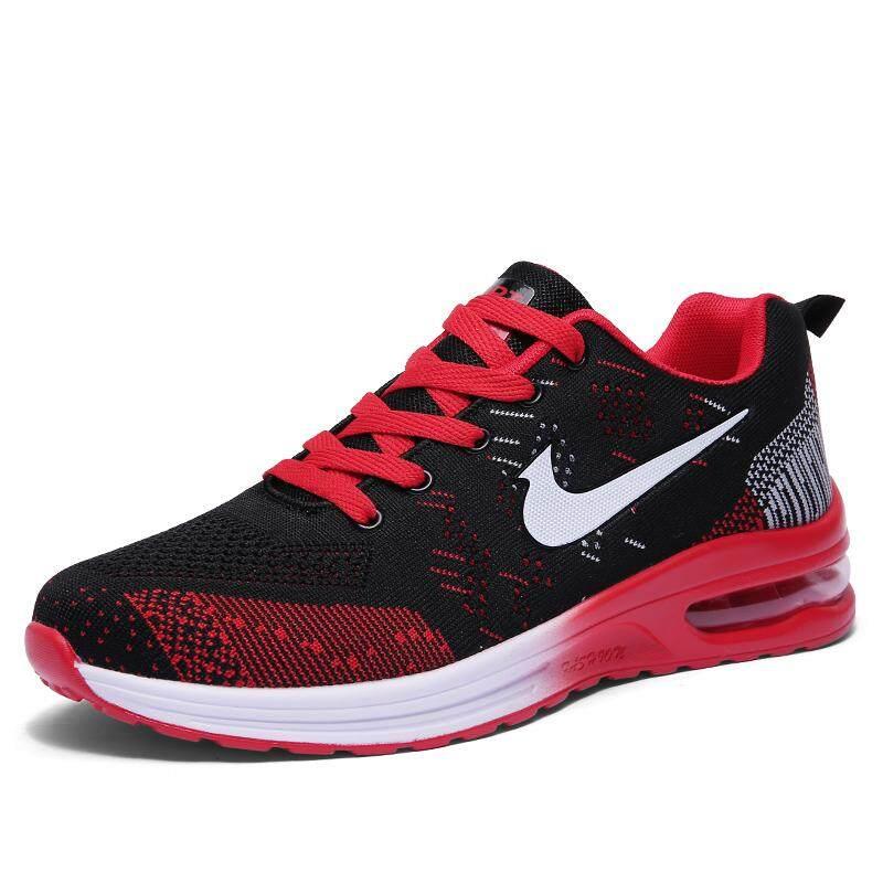 รองเท้าวิ่งสำหรับผู้ชายรองรับการกระแทกรองเท้ากีฬาสะดวกสบายกีฬารองเท้าผ้าใบออกกำลังกายขนาดพิเศษ 36-45 รองเท้าเดินกลางแจ้งคุณภาพสูง.