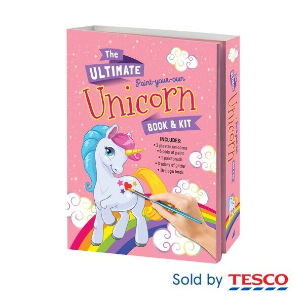 THE ULTIMATE PAINT-YOUR-OWN UNICORN BOOK & KIT Malaysia