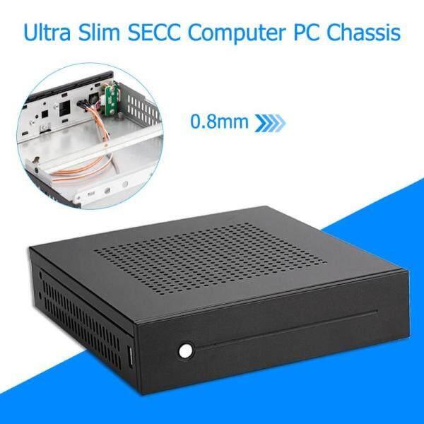 Bảng giá E-T3 Mini-ITX Trường Hợp Siêu Mỏng 0.8Mm SECC Máy Tính Để Bàn PC Chassis Hỗ Trợ Gắn Tường Cho Mini-Bo Mạch Chủ ITX Trong Vòng 17X17cm Phong Vũ