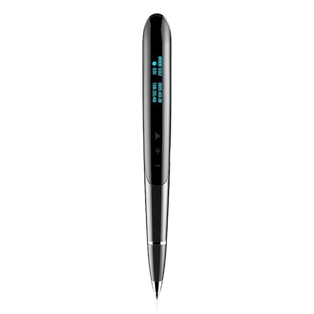 JNN Q9 8GB LED Display Digital Recorder Pen Hidden Digital Audio Sound Voice Recorder Recording Pen Professional Dictaphone