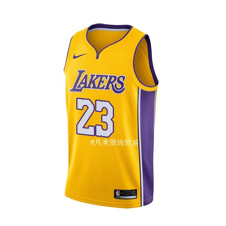 newest a4eed e4253 NBA Num 23 LeBron James For Men Swingman Jersey Basketball Clothes NBA Los  Angeles Lakers Basketball Clothes Official Genuine High Quality Size small  ...