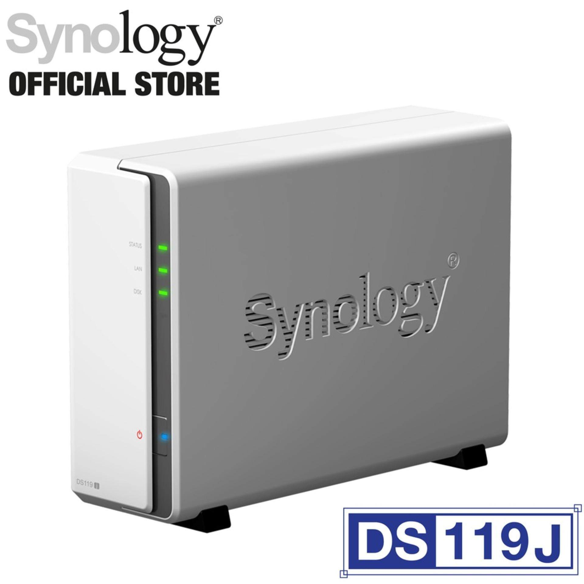 Synology Ds119j Nas Diskstation 1-Bay By Synology Official Store.