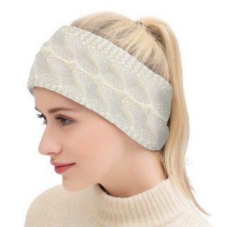 Dệt Kim Knot Headband Băng Đô Quấn Đầu Tai Khăn Xếp Đan Móc Mùa Đông Khăn Trùm Đầu Thể Thao Yoga Mềm Cho Nữ Phụ Nữ thumbnail