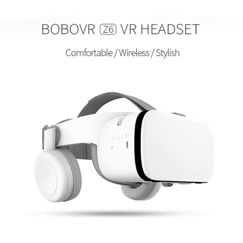 2019 Mới Nhất Bobo Z6 VR Kính Không Dây Bluetooth VR 3D Tông Kính Thực Tế Ảo Tai Nghe Dành Cho Điện Thoại Thông Minh Điện Thoại Thông Minh