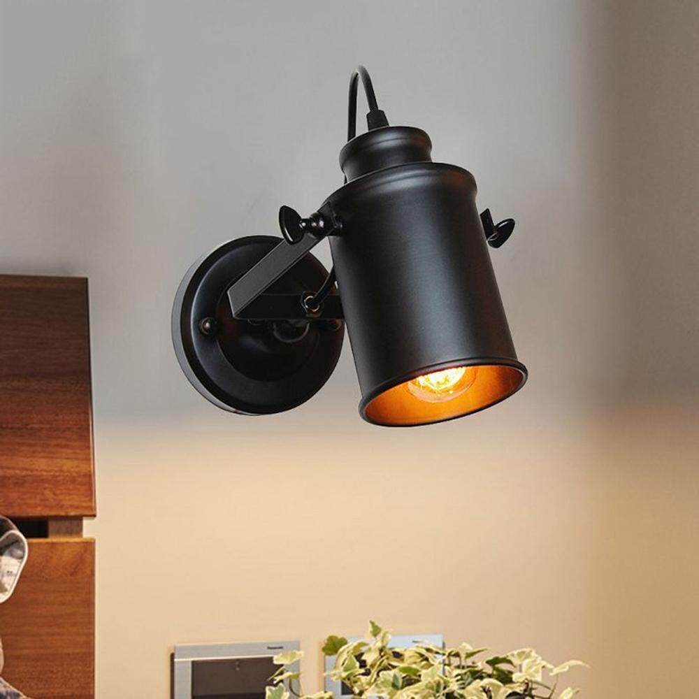 [YP-Judixy Store]E27 Wall Lamp Retro Industrial Wall Light LED Wall Sconce for Bar Cafe Home