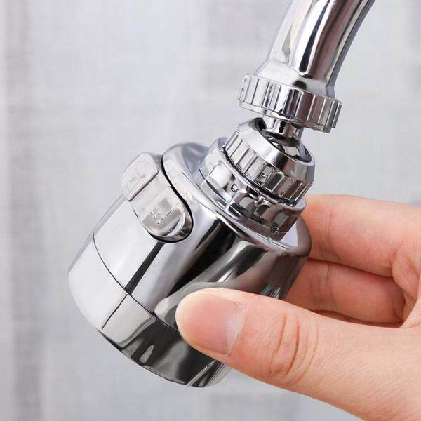 Innovative Faucet Stainless Steel Splash-Proof Universal Tap Shower Water Rotatable Filter Sprayer Nozzle