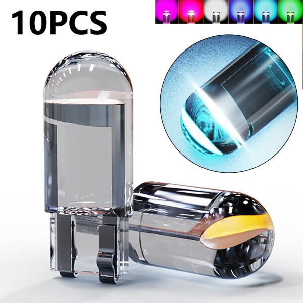 10 Cái Đèn LED COB T10 W5W WY5W 2020 168 501 Mới 2825 Đèn LED Đỗ Xe Bóng Đèn Bên Cửa, Đèn Dụng Cụ Đèn Biển Số Xe Ô Tô