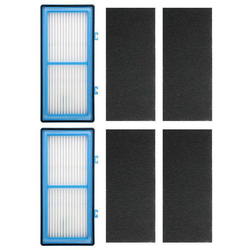 4 Replacement Carbon Booster Filters For Holmes Total Air Purifier Aer1 Series