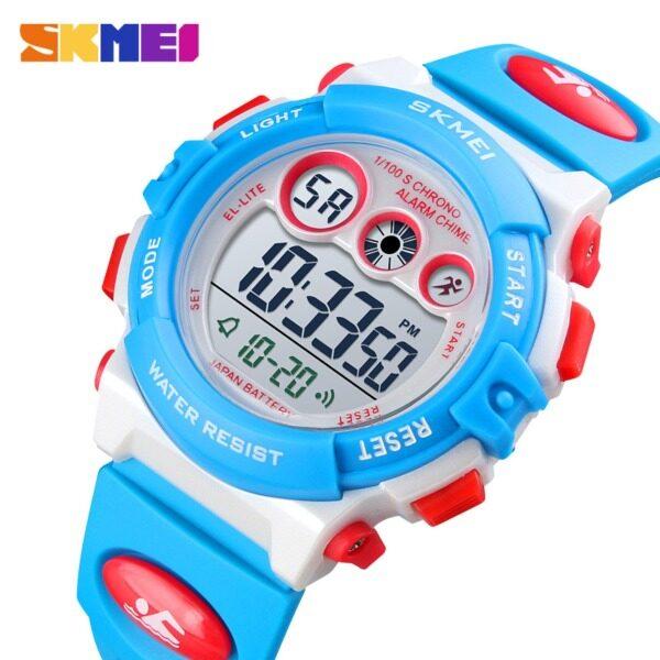 [LazChoice]SKMEI Brand Sport Children Watch Waterproof LED Digital Watches Multifunction Sports Electronic Watch for Kids Boys Girls Gifts 1451 Malaysia