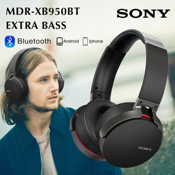 【Hot sale】SONY XB950BT Wireless Bluetooth Headphone MDR-XB950BT Extra Bass Hi-Fi Stereo Bluetooth Headset Singapore