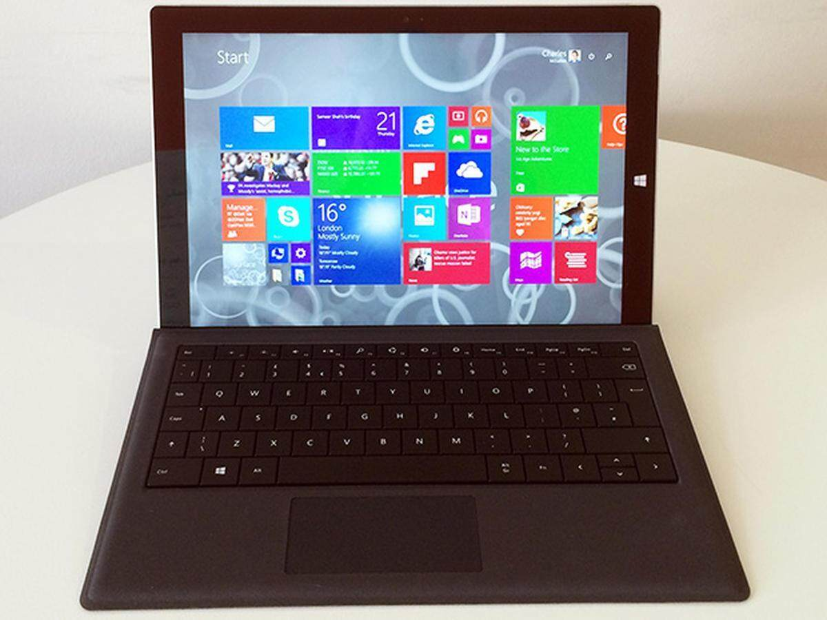 Microsoft Surface Pro 3 i5/ 4GB/ 128GB 12 inch Touch with Keyboard 3 Months Malaysia