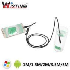 Wistino Android USB Mini Camera Nội Soi Cho Điện Thoại Thông Minh Cáp Camera Ống Camera Chống Nước Kiểm Tra Giám Sát Camera Nội Soi