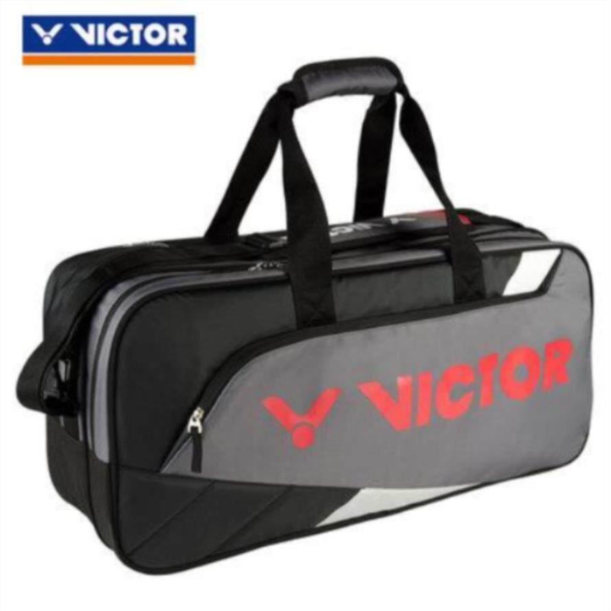 14c4c7cf6e27 Genuine Victor Badminton Bag Tennis Bag Brand New Men Women Sport Gym Bag  Outdoor Racket Sports