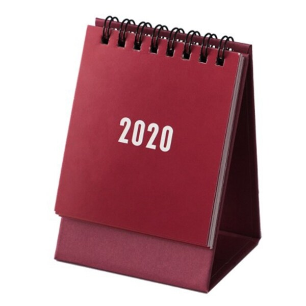 Mua Lịch Giấy Để Bàn 2020 Lịch Để Bàn Mini Lịch Để Bàn Cuộn Dây Lịch Tự Trang Trí