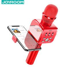 Micro karaoke kiêm loa bluetooth không dây Joyroom MC3 K echo giảm tiếng ồn kèm giá đỡ điện thoại – INTL