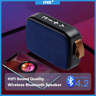 Loa Bluetooth Không Dây Di Động JTKE Loa Ngoài Âm Thanh Vòm Âm Thanh Nổi 3D, Hỗ Trợ Máy Nghe Nhạc Thẻ TF FM thumbnail