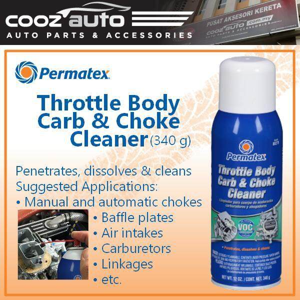 Permatex Throttle Body Carb & Choke Cleaner (1 Can)